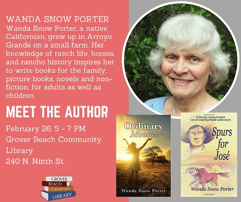Meet the Author: Wanda Snow Porter