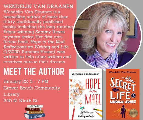 Meet the Author: Wendelin Van Draanen