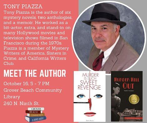 Meet the Author: Tony Piazza