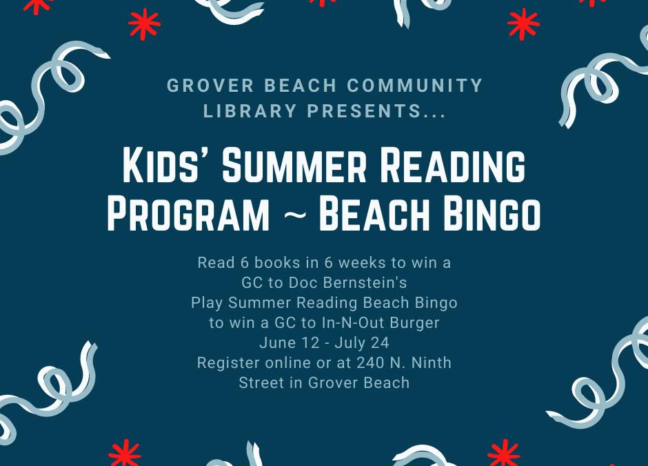 Kids' Summer Reading Program Returns!